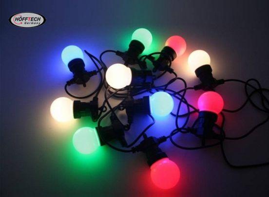 LED LICHTSNOER 10 DLG 7.5 MTR IP44 KRISTAL