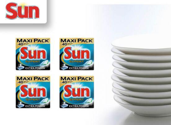 Sun All in 1 Extra Power Vaatwastabletten - 240 stuks