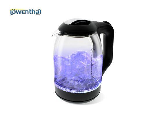 Lowenthal Glazen waterkoker met Led-verlichting