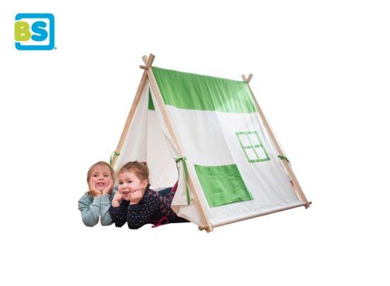 BS Toys Triangel tent- Katoen