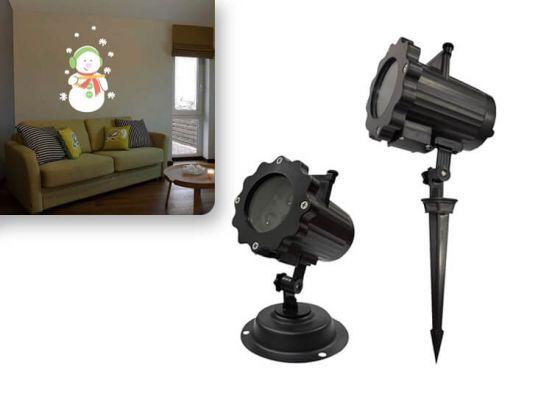 Benson Laser Light - Kerst Laser Projector Kleur 4 Patronen