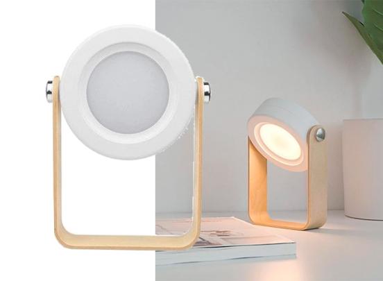 Zeer veelzijdig bureaulamp - Opvouwbaar - Wit