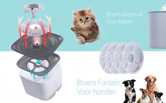FlinQ Drinkfontein Voor Honden en Katten