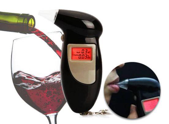Alcoholtester sleutelhanger - Altijd je eigen blaastest op zak