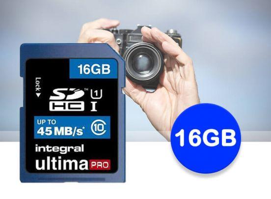 Integral SD kaart-16 GB