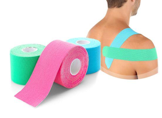 Kinesiologie-tape 4 rollen - Ondersteunt spieren en gewrichten