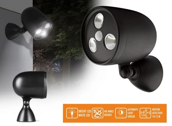 LED Lovers Brighton - Solar led buitenlamp met nacht- en bewegingssensor
