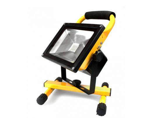 mr Safe LED Battery Floodlight 20W - Oplaadbare bouwlamp voor binnen of buiten