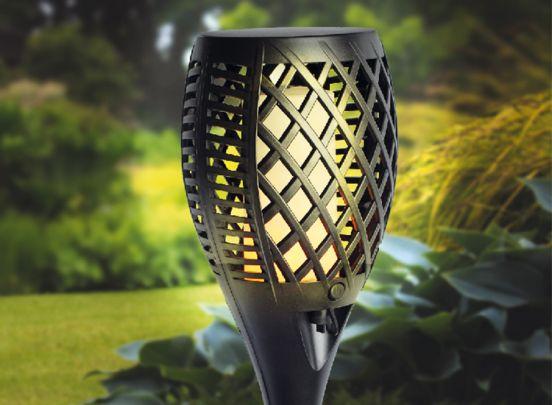 Dreamled Solar tuinlampen met vlam-effect verlichting