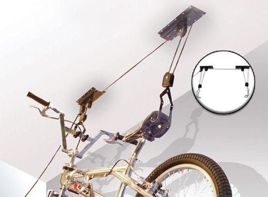 Plafond fietslift