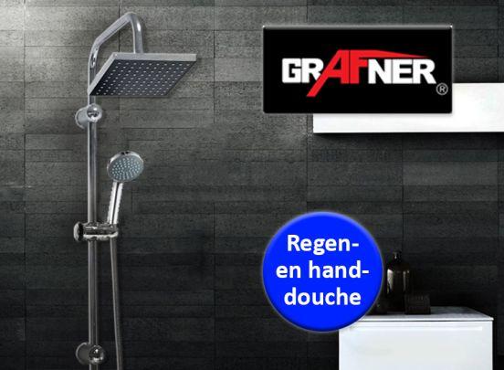 Grafner Regenval Doucheset