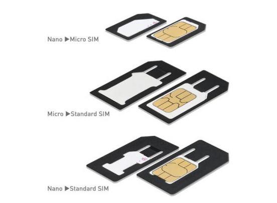 Nano simkaart 3-in1-knipper - Kniptang om je simkaart op maat te knippen