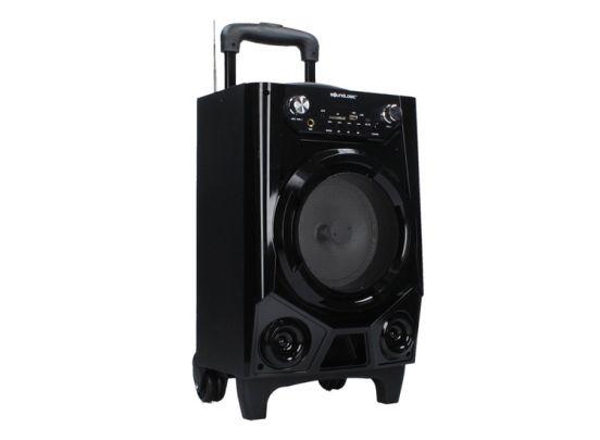 Soundlogic trolley speaker op wieltjes - Overal draadloos muziek luisteren