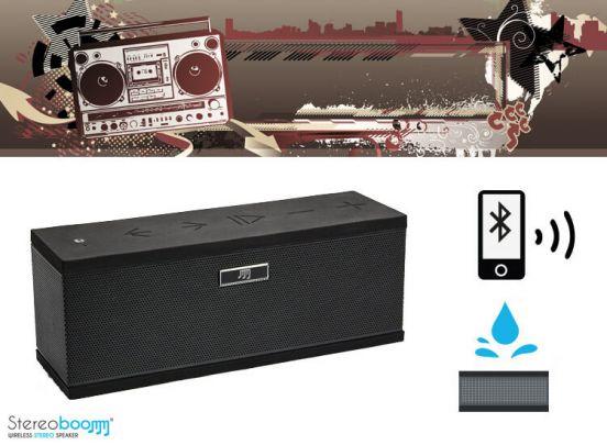 Stereoboomm 500+ draadloze speaker - maak van je mobiel of tablet een audiosysteem