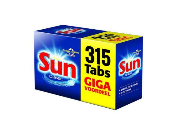Sun vaatwastabletten - classic - 315 tabletten
