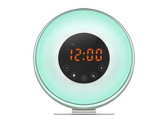Sunrise Wake Up Light wekkerradio 6639F - Word wakker met de zonsopgang
