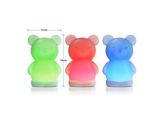 Led-nachtlampje voor kinderen - Bedlampje 'beertje' voor de kinderkamer