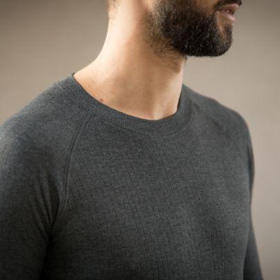 Thermokleding - Heren - Set van broek en shirt - Antraciet