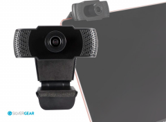 Silvergear HD Webcam 1080P - Ingebouwde Microfoon - Voor Computers en Laptops - Windows