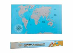Wereld Kraskaart