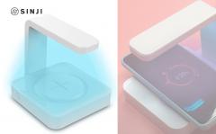 Sinji UV Sterilizer Charger – Telefoon schoonmaken met UV licht sterilisator – Desinfectie – Draadloze oplader
