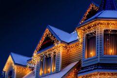 LED Ijspegelverlichting - Lichtgordijn met 96 LED's