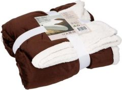 Heerlijke zachte deken - Bruin