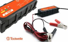 Toolwelle Smart Charger Accu Druppellader - Geschikt voor vrijwel iedere accu