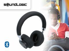 Draadloze stereokoptelefoon met stemgestuurde assistent