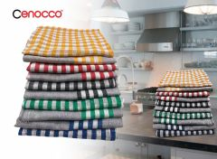 Cenocco CC-9069 Vintage Katoenen vaatdoeken - 10 stuks