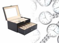 Horloge en Sieraden opbergdoos - Horlogebox - Voor 20 stuks