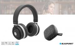 Blaupunkt BLP1700 bluetooth Koptelefoon + Gratis luidspreker