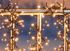 Clusterverlichting - 588 LEDs - Warm wit - 8,5 meter
