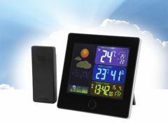 Digitaal Weerstation - Kleurenscherm en Draadloze Sensor