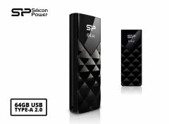 Silicon Power 64GB Ultima U03 USB flash drive USB Type-A 2.0 Zwart