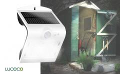 Luceco Solar LED-wandlamp 1,5 Watt NATURAL wit (4000K)