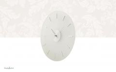 Nedis Ronde wandklok | Diameter 30 cm | Elegant | Glas