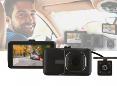 Guardo Full HD Dashcam - voor-en achtercamera - 1080P