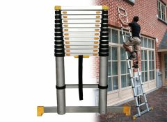 Mr Safe Telescopische ladder - Soft Close - Werkhoogte 3.91m