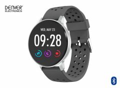 Denver SW-170 - 1.3 inch smartwatch met Bluetooth – Grijs