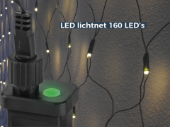 LED Netverlichting met 160 LED's