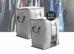 Kleding opbergbox - Grijs 1+1 gratis