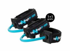 HipNThigh Toner weerstandskabels - blauw