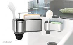 Simple Human Keuken Gootsteenorganiser - Zilver - RVS
