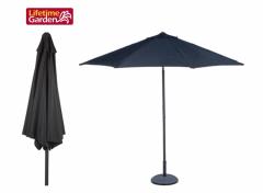 Parasol - zwart - 300 cm