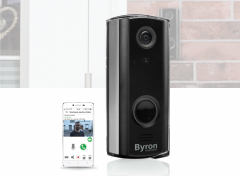 Byron Wi-Fi Draadloze Video Deurbel - 720p HD - Wi-Fi