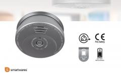 Smartwares RM 149A Rookmelder - aluminium look - 5 jaar batterij