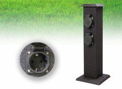 Smartwares outdoor stroompaal  - stekkerpaal