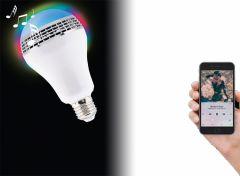 Soundlogic smart LED RGV lamp met bluetooth luidspreker