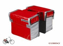 Cordo Express - Dubbele Fietstas - 30 l - Rood